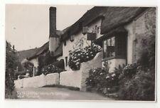 Leather Workers Cottage West Porlock Somerset Vintage RP Postcard 072c