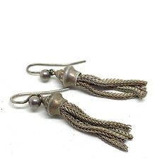 Antique Victorian tassel earrings