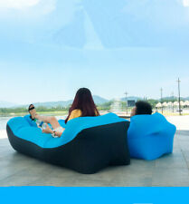 Inflatable Sofa Air Sofa Lazy Pillow Waterproof Lazy Portable Outdoor Beach Bed