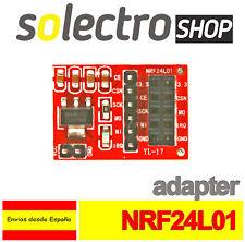 Adaptador NRF24L01+ inalámbrico 2.4GHz Arduino Socket Wireless Transceiver W0065