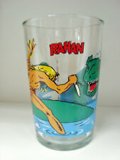 rare Rahan - Verre Amora - Rahan et le monstre 1987 tf1