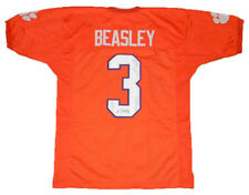 VIC BEASLEY SIGNED AUTOGRAPHED CLEMSON TIGERS #3 ORANGE JERSEY JSA