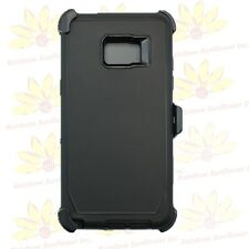 For Samsung Galaxy Note 7 Case W/Screen Protector(clip fits otterbox defender)BK