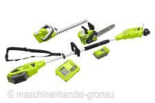 Zipper Batería Set de cuidado para jardín zi-gps40v-akku