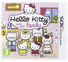 NINTENDO 3ds JUEGO HELLO KITTY - Happy Family 2ds compatible Mercancía Nueva