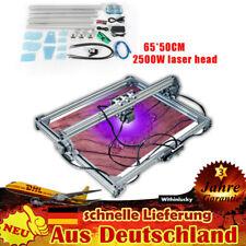 2500mW Laser Graviermaschine 65x50cm Graviergerät Lasergravur Holz Gravieren NEU