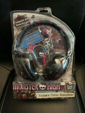 New Monster High Foldable Stereo Headphones