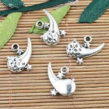 Alloy metal Tibetan Silver color comet charms 12pcs EF0007