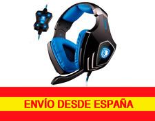 Auriculares Sades A60 profesional Gaming 7.1 Sonido Envolvente con micrófono USB