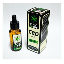 OLIO DI CBD 30ml 6% 1800mg - PLANT OF LIFE Cannabis Liquido Rimedio Naturale Oil