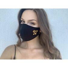Reusable Face Mask with Adjustable Straps, Lakers