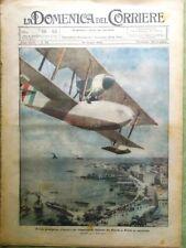 La Domenica del Corriere 14 Giugno 1925 De Pinedo Mugello Sofia Club Alpino Roma
