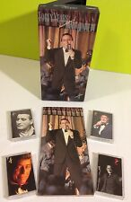 Forty Years The Artistry of Tony Bennett 4 cassette Promo Box Set 1991 w/ Book