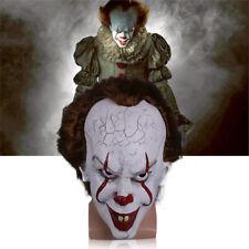 It Clown Maske Horrormaske Es Clownmaske Halloween Kostüm Stephen King 2017 Neu