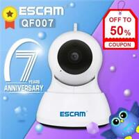 ESCAM 720P Wireless IP Camera Security Wifi Home Baby Pet 2-way Monitor APP Push