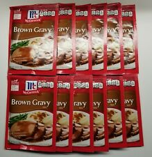 McCormick Brown Gravy mix 0.87oz 24g - 12 Pack