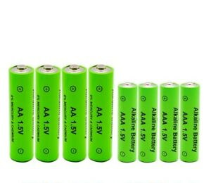 1.5V rechargeable AA battery AAA Alkaline 3000mah replace flashlight toys