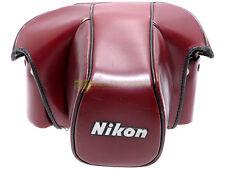 Borsa pronto originale CF-22 per Nikon F3. Genuine Nikon F-3 camera case.
