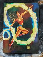 1994 SkyBox DC Master Series - Foil Chase Card Wonder Woman - F1
