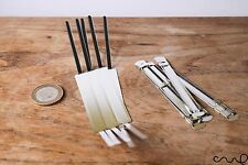 10 x 2 pièces métal papier Filing Prong Fasteners Clips 50 mm/80 mm à cheval