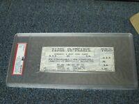 Tony Gwynn 3000 Hit Aug 6, 1999 Montreal Expos Full Ticket PSA 9 Encapsulated