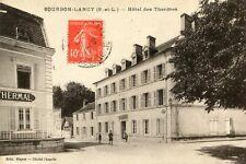 Carte BOURBON LANCY Hôtel des Thermes