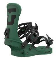 Union Force Snowboard Bindings Mens Size Medium (US 8-10) Forest Green New 2021