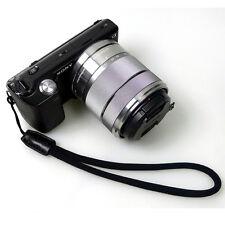 GARIZ DD-WSP1 Camera Wrist Strap Black For Sony Alpha NEX LEICA FUJI PEN LUMIX