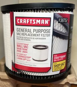 Craftsman 938752 Shop Vac Filter