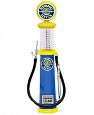 Yat Ming 1:18 diecast model gas pump Oldsmobile Service yellow blue cylinder