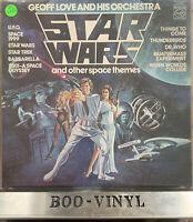 Geoff Love & His Orchestra - Star Wars & Other Space Themes - Vinyl LP - 1978 EX