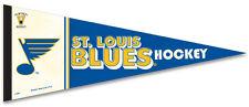 St. Louis Blues Vintage NHL 1960s-70s Style Premium Felt Collectors PENNANT