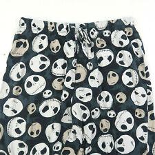 Nightmare Before Christmas Disney Mens Pajama Pants Size Large Fleece Drawstring