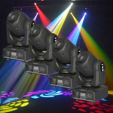 4pcs DMX 30W Moving Head Stage Light Lighting Gobo Pattern Sound Actived