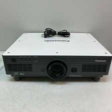 Panasonic PT-D5700UL DLP Projector Tested and Working No Remote 747 Lamp Hours