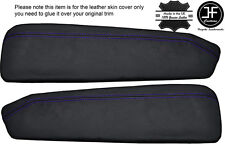 PURPLE STITCH 2X DOOR CARD TRIM LEATHER COVER FOR HOLDEN MALOO LS VG HSV LS UTE
