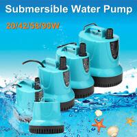 Electric Pond Submersible Water Pump Quiet Aquarium Fish Tank Fountain Marine