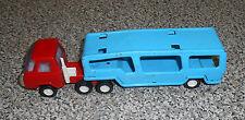 VINTAGE BUDDY L CAR TRANSPORT TRAILER and CAB