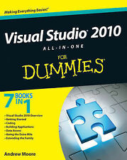NEW Visual Studio 2010 All-in-One For Dummies by Andrew Moore