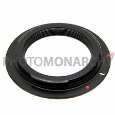 Anello adattatore OBIETTIVO M42 su  CANON EOS 1000D 1100D 400D 450D 500D 550D