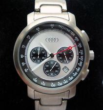 Audi RS Racing Quattro DTM Motorsport Sport Design Titanium Watch Chronograph