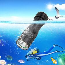 Underwater 100m 5000LM CREE XM-L U2 LED Scuba Diving Flashlight Taschenlampen