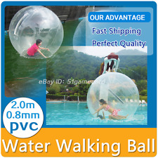 Walk on Water Dance Ball Water Walking Ball Roll Ball Zorb ball Zorbing 2M
