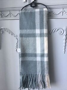 Next One Size Polyester/viscose Checked Scarf Brand New