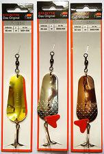 3 pcs! original DAM EFFZETT® Blinker FZ Original 30gr spoons Silver/Gold,Copper