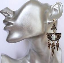 Cabochon Diamante Tassel Sexy Ethnic Ab
