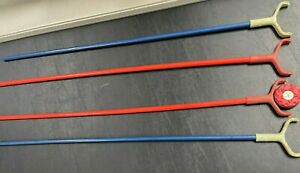 Vintage Rare National Table Shuffleboard Sticks - Extremely Rare for Your Pucks!