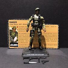 G.I. Joe 25th 30th 50th ROC POC Sgt. Stalker V9 Figure Complete