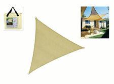 Tenda a Vela Parasole Impermeabile Triangolare 6,2x6,2x6,2m Grigio en.casa