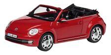 VERY RARE VW BEETLE 5C TSI TDI CABRIOLET 2013 TORNADO RED 1:43 SCHUCO